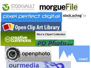 Cómo Encontrar Fotografías y Materiales Gráficos Gratis