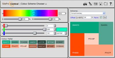 Herramienta para Selección de Esquemas de Color